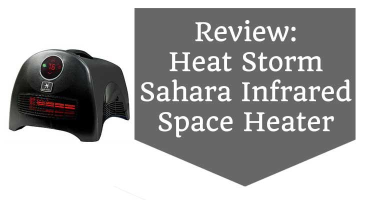 heat storm sahara portable space heater review